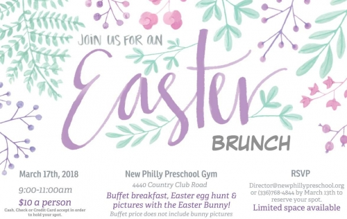 JOIN US FOR AN EASTER BRUNCH